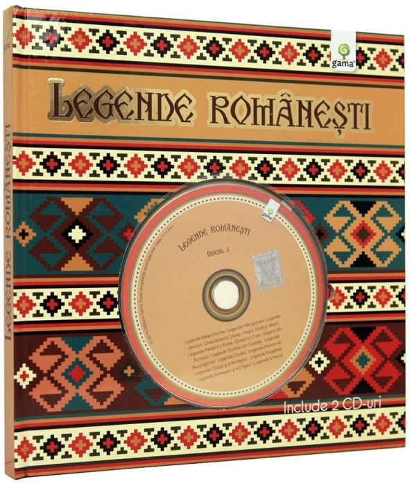 Legende romanesti (+CD) 0
