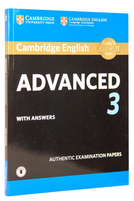 Cambridge English Advanced 3 Student's Book with Answers with Audio 0