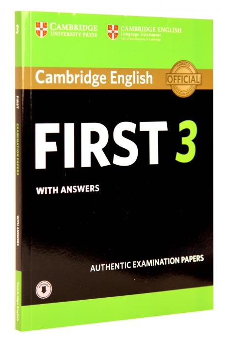 Cambridge English First 3 Student's Book with Answers with Audio 0