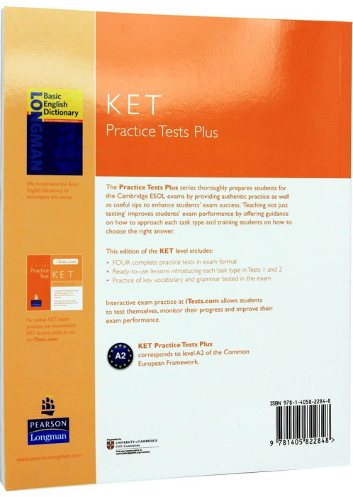 KET Practice Tests Plus with Audio CD Pack 1