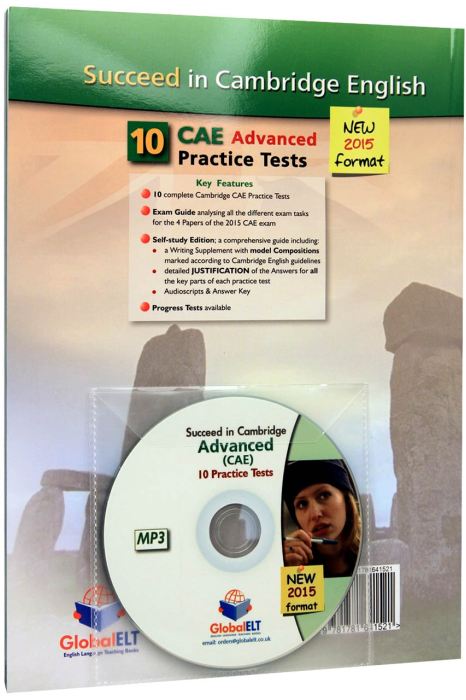 Succeed in Cambridge CAE. 10 Practice Tests. New 2015 Format 1
