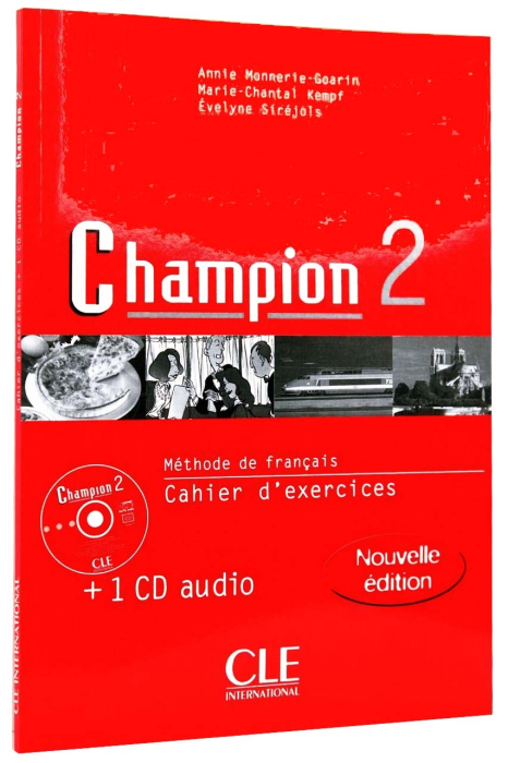 Champion 2 Cahier d'exercices + CD 0