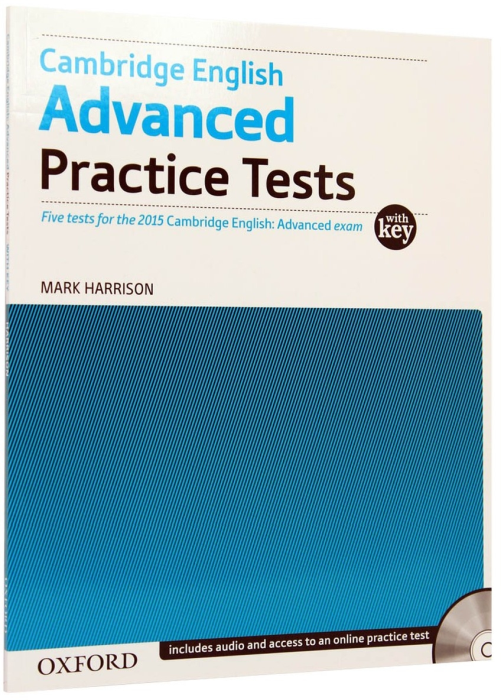 CAE Advanced Practice Tests (new 2015) with Key. Five tests 0