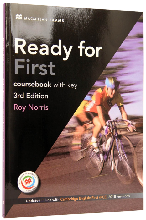 Ready for First Coursebook with eBooks and Key. 3rd edition 0