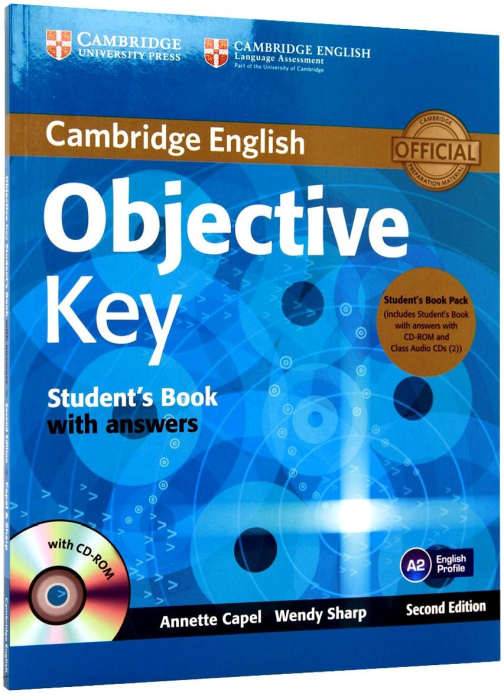 Objective Key (KET) Student's Book Pack  (Answers with CD-ROM and Class Audio CDs(2)) 0
