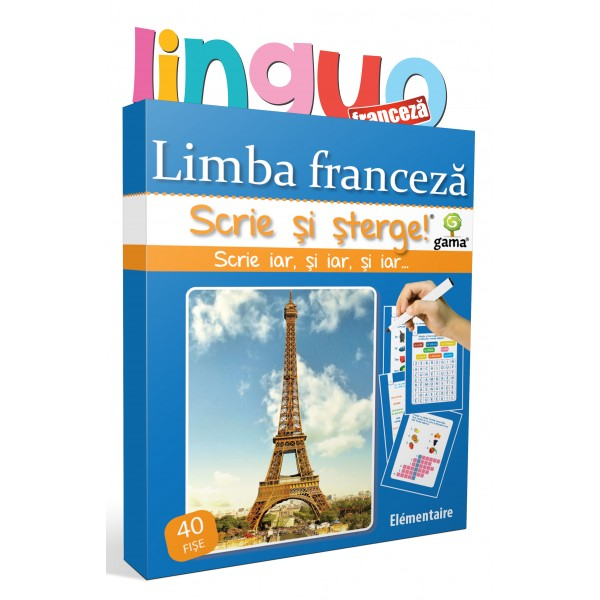 Scrie si sterge! Limba franceza - Elementaire [0]