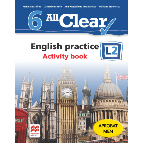 ALL CLEAR. English practice clasa a 6-a. Activity book. L 2 [0]