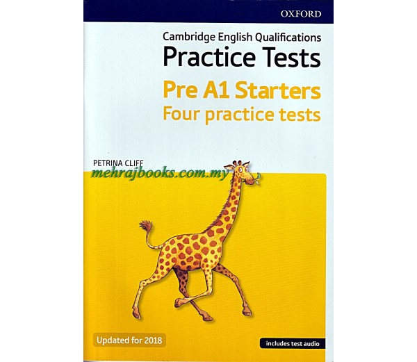 Starters pre - A1.Cambridge YLE Tests, Student's Book and Audio CD Pack 0