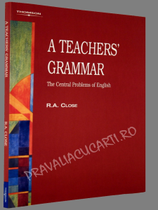 A Teachers' Grammar - The Central Problems of English1