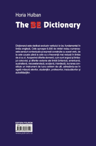 The BE Dictionary5
