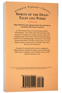 Spirits of the Dead: Tales and Poems1