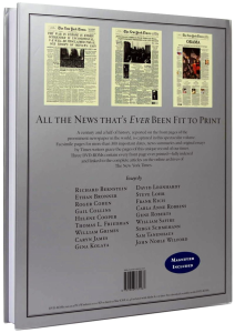 New York Times. The Complete Front Pages 1851-2008 [9]