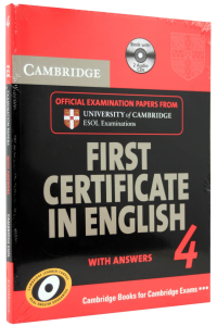 First Certificate in English 4 (FCE 4). With answers with 2 Cd0