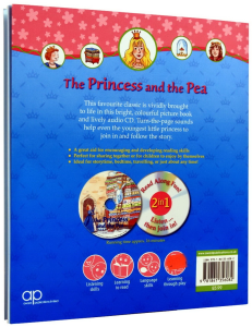 The Princess and the Pea - Book and CD