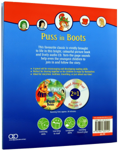 Puss in Boots - Book and CD