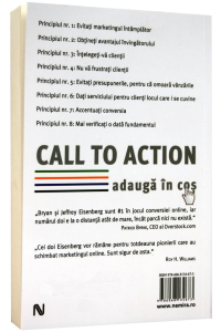 Call to action. Adauga in cos1