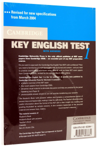 Cambridge Key English Test (KET) 1 Self-Study Pack (Student's Book with answers and 2 Audio CDs)1