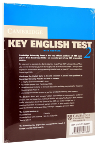 Cambridge Key English Test (KET) 2 Self-Study Pack (Student's Book with answers and 2 Audio CDs) [1]