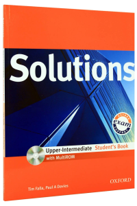 Solutions Upper-intermediate: Students Book with MultiROM [0]