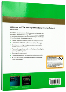 Grammar and Vocabulary for First and First for Schools Book with Answers and Audio1