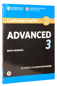 Cambridge English Advanced 3 Student's Book with Answers with Audio0