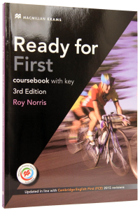 Ready for First Coursebook with eBooks and Key. 3rd edition0