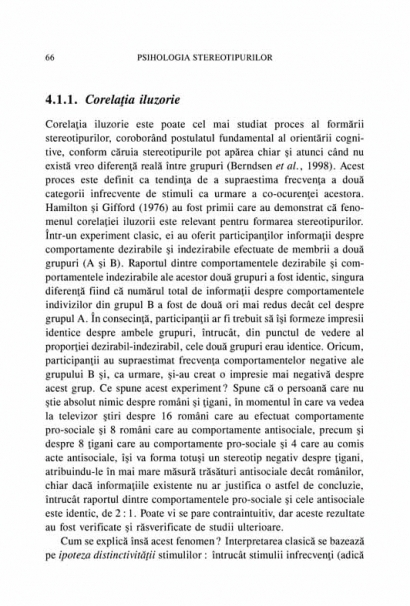 Psihologia stereotipurilor