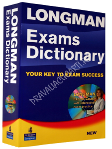Longman Exams Dictionary - For Upper Intermediate - Advanced Learners
