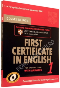 First Certificate in English 1 (FCE 1). With answers and Cd