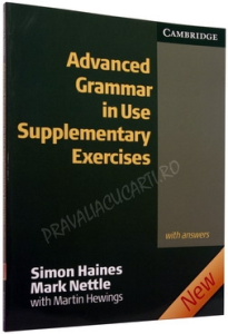 Advanced Grammar in Use (2nd Edition) Supplementary Exercises with answers