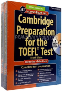 Cambridge Preparation for the TOEFL iBT Test (4th Edition) Book with CD-ROM and Audio CDs (8) Pack