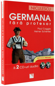 GERMANA fara profesor - 2 Cd-uri audio - Metoda instant
