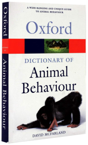 Oxford - Dictionary of Animal Behaviour