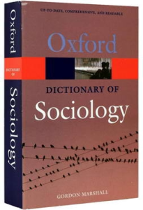 Oxford - Dictionary of Sociology