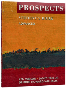 Prospects - Student's Book Advanced