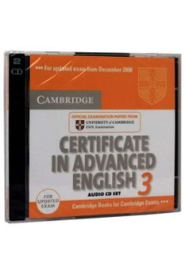 Certificate in Advanced English 3 AudioCD Set