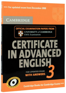 Certificate in Advanced 3. With answers and Cd