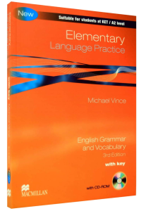 Elementary Language Practice - 3th Edition with Key and CD-Rom
