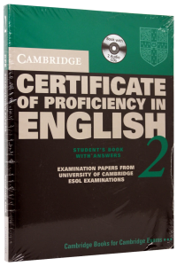 Cambridge Certificate of Proficiency in English (CPE) 2 Self-Study Pack (Student's Book with answers and 2 Audio CDs)