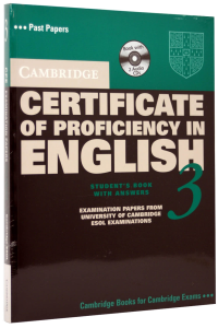 Cambridge Certificate of Proficiency in English (CPE) 3 Self-Study Pack (Student's Book with answers and 2 Audio CDs)