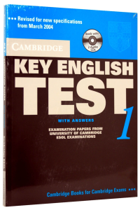 Cambridge Key English Test (KET) 1 Self-Study Pack (Student's Book with answers and 2 Audio CDs)