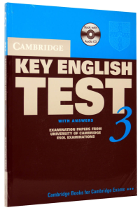 Cambridge Key English Test (KET) 3 Self-Study Pack (Student's Book with answers and 2 Audio CDs)