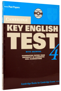 Cambridge Key English Test (KET) 4 Self-Study Pack (Student's Book with answers and 2 Audio CDs)