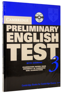 Cambridge Preliminary English Test 3 (PET) Self-Study Pack (Student's Book with answers and Audio CD)
