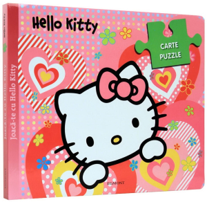 Hello Kitty. Carte puzzle