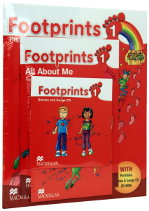 Footprints 1 Pupil's Book Pack (Pupil's Book, CD-ROM, Songs & Stories Audio CD & Portfolio Booklet)
