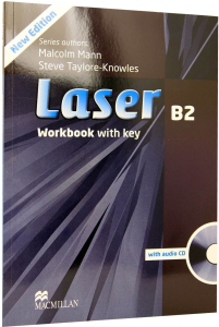 Laser B2 Workbook with Key and CD Pack
