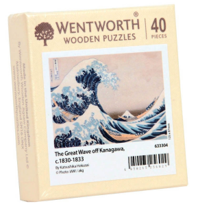 Puzzle din lemn. The Great Wave off Kangawa. 40 piese