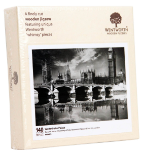 Puzzle din lemn. Westminster Palace. 140 piese