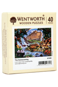 Puzzle din lemn. The Homecoming. 40 piese